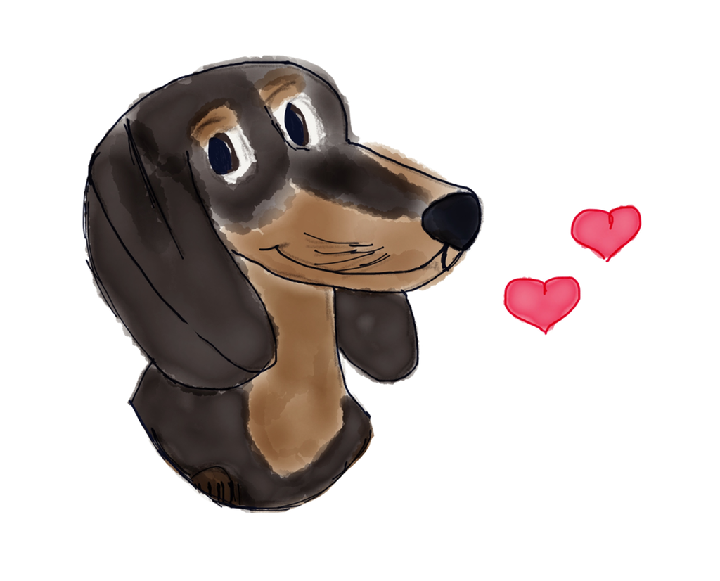 Adorable Dachshund Stickers messages sticker-6
