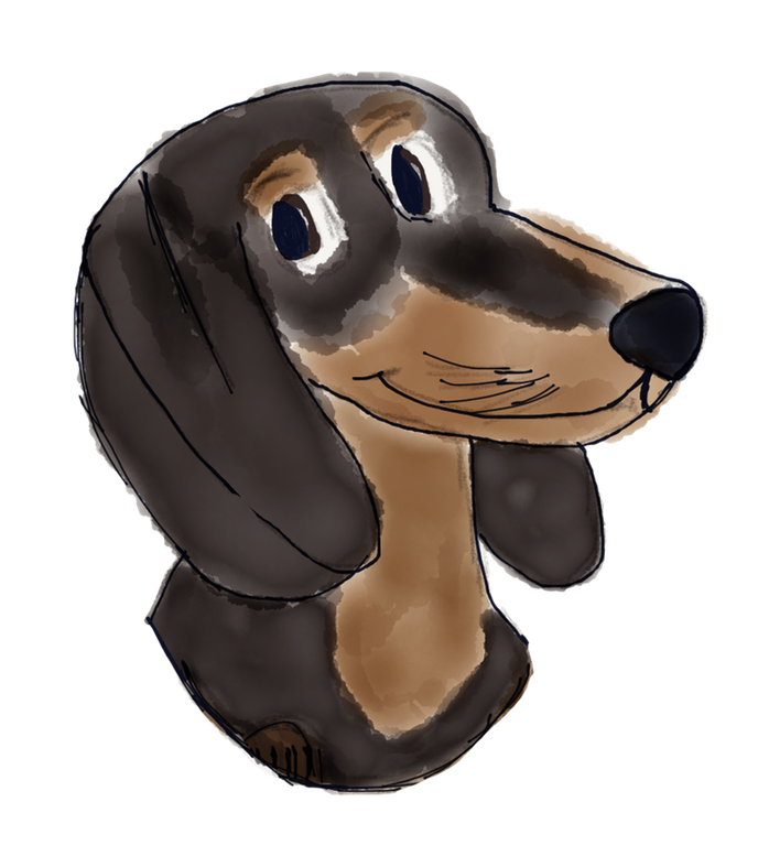 Adorable Dachshund Stickers messages sticker-7