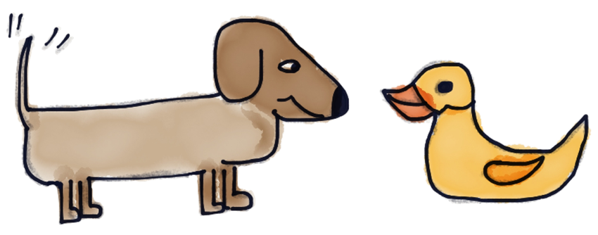 Adorable Dachshund Stickers messages sticker-11