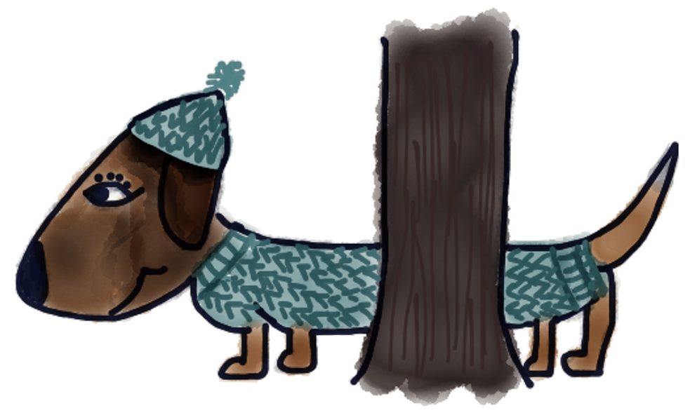 Adorable Dachshund Stickers messages sticker-10