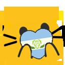 Cat Pride Blobs messages sticker-0