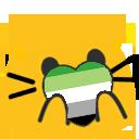 Cat Pride Blobs messages sticker-7