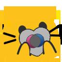 Cat Pride Blobs messages sticker-1