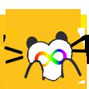Cat Pride Blobs messages sticker-10