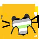 Cat Pride Blobs messages sticker-2