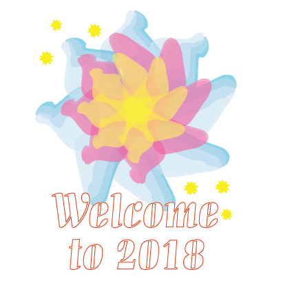 Happy New Year - 2018 messages sticker-4