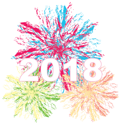Happy New Year - 2018 messages sticker-11