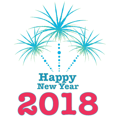 Happy New Year - 2018 messages sticker-9