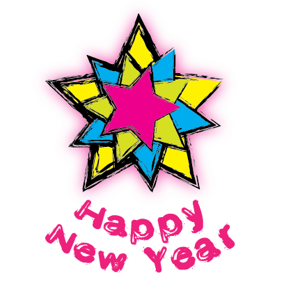 Happy New Year - 2018 messages sticker-2