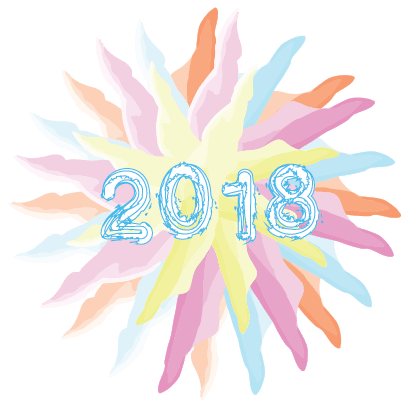 Happy New Year - 2018 messages sticker-1
