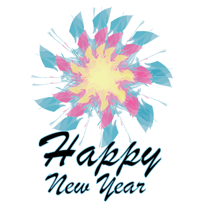 Happy New Year - 2018 messages sticker-5