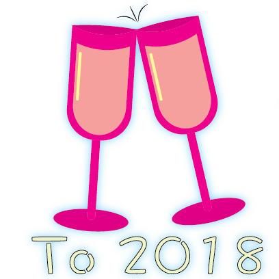 Happy New Year - 2018 messages sticker-7