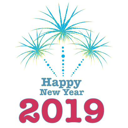 Happy New Year - 2019 messages sticker-1