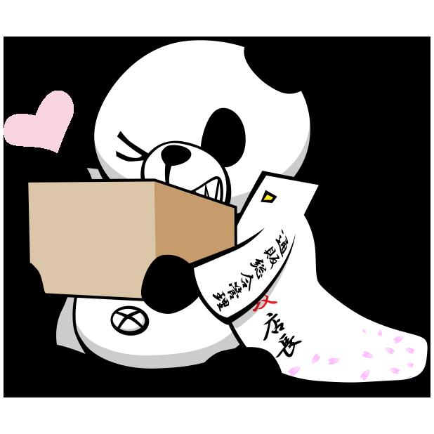特攻パンダ messages sticker-4
