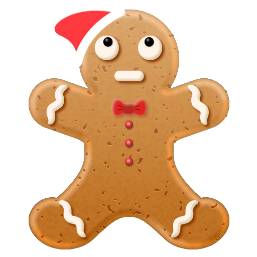 Christmas Gingerbread Emoji messages sticker-5