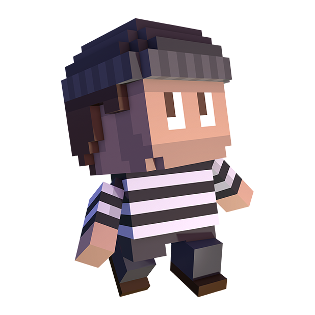 Blocky Cops messages sticker-8