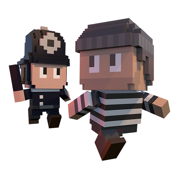 Blocky Cops messages sticker-9