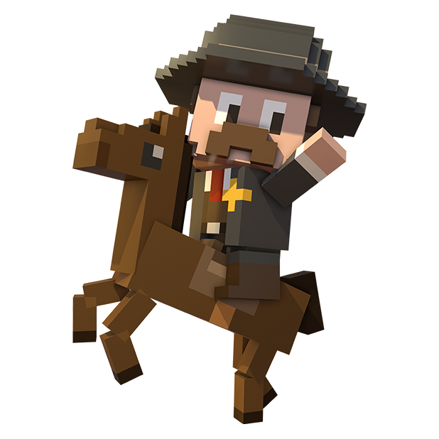 Blocky Cops messages sticker-10