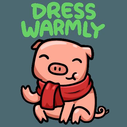 Hog Run Stickers messages sticker-1