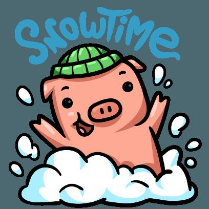 Hog Run Stickers messages sticker-5