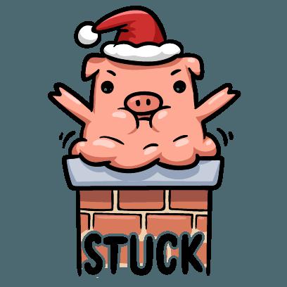 Hog Run Stickers messages sticker-0
