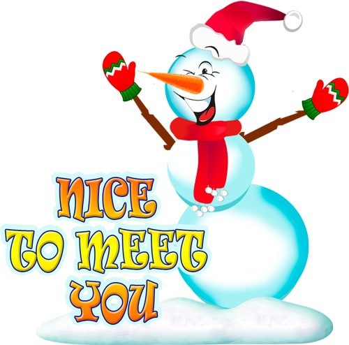 Snowman - Winter cute stickers messages sticker-5