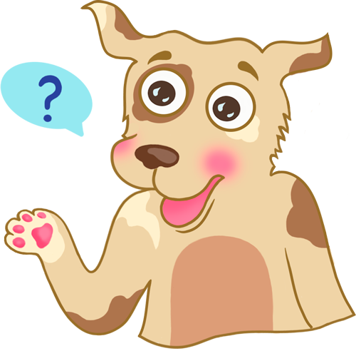 Dog - Cute stickers messages sticker-3
