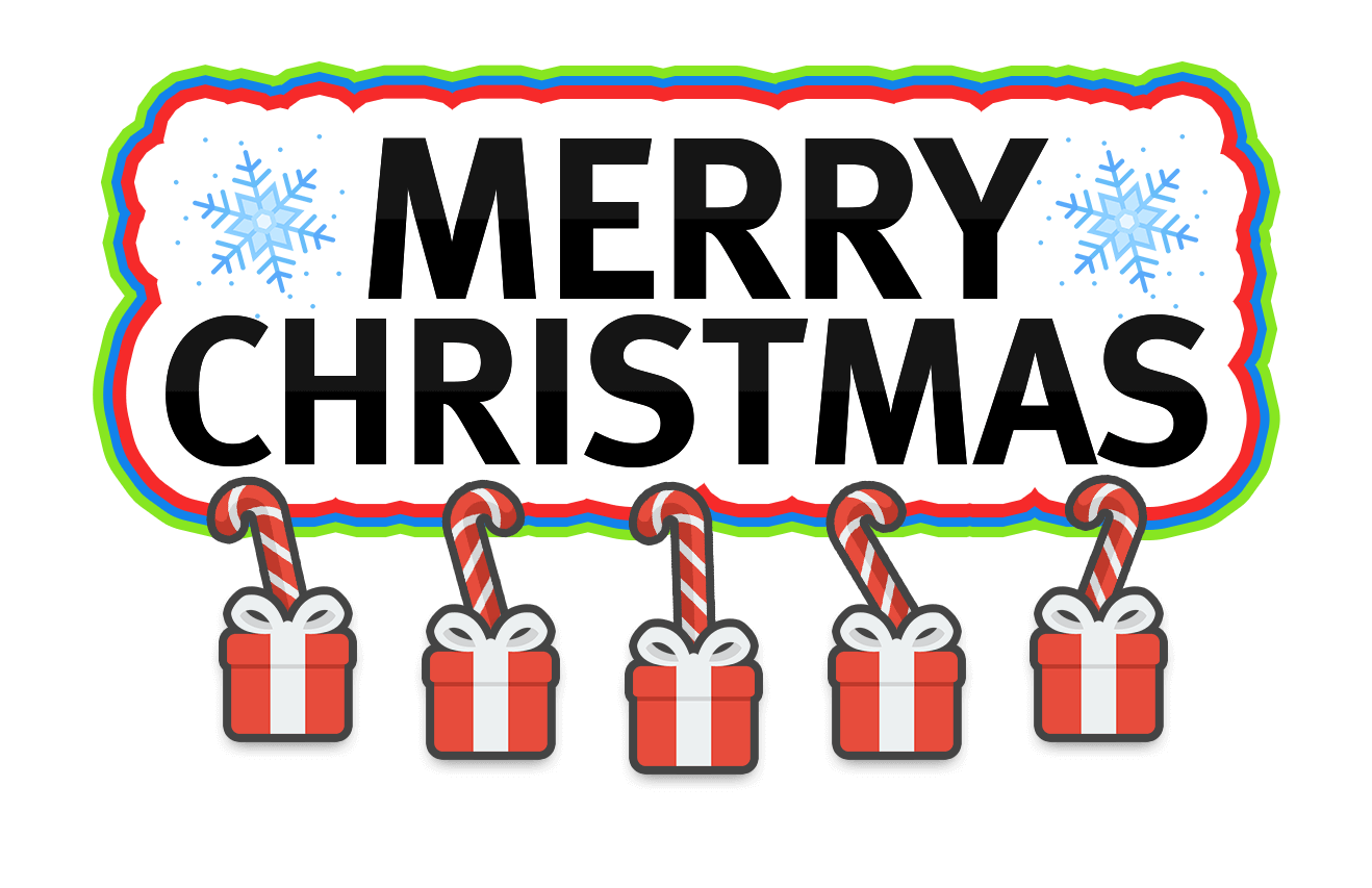 Merry Christmas Stickers messages sticker-0