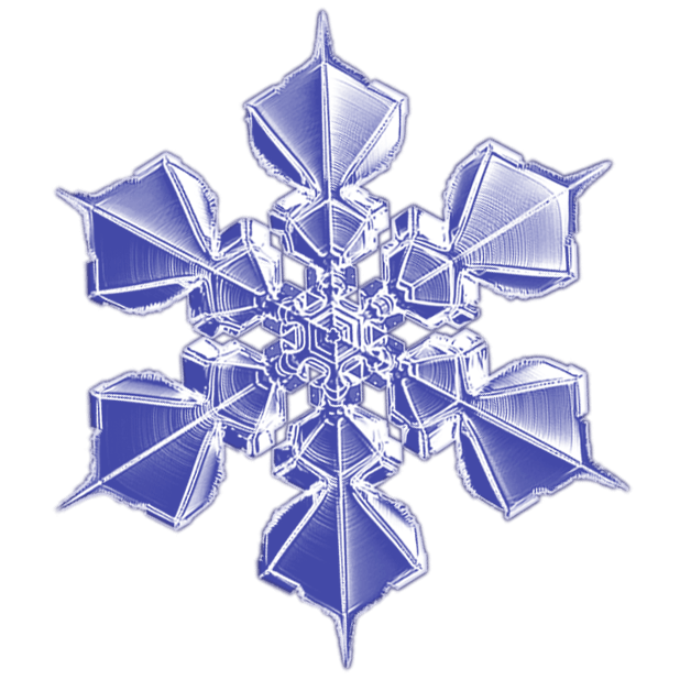 Kenneth Libbrecht Snowflakes messages sticker-8