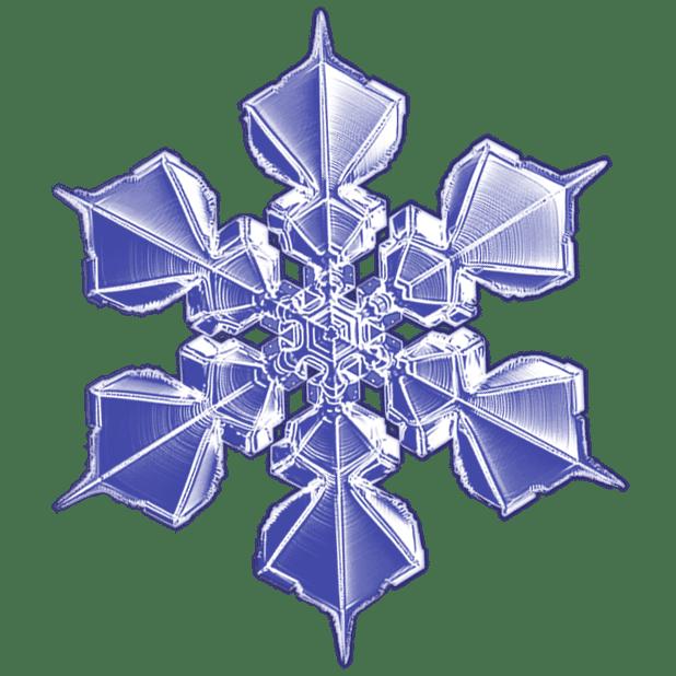 Kenneth Libbrecht Snowflakes messages sticker-8