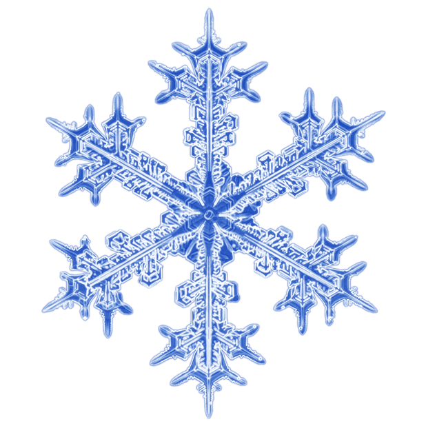 Kenneth Libbrecht Snowflakes messages sticker-6