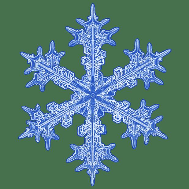 Kenneth Libbrecht Snowflakes messages sticker-6