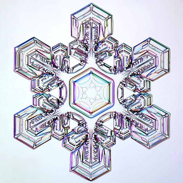 Kenneth Libbrecht Snowflakes messages sticker-9