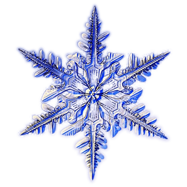 Kenneth Libbrecht Snowflakes messages sticker-1