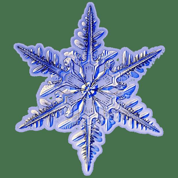 Kenneth Libbrecht Snowflakes messages sticker-1