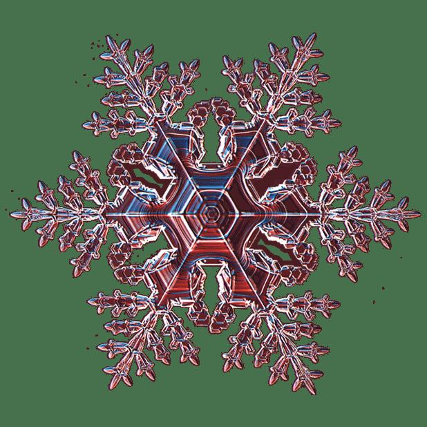 Kenneth Libbrecht Snowflakes messages sticker-7