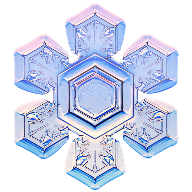 Kenneth Libbrecht Snowflakes messages sticker-5
