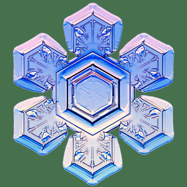 Kenneth Libbrecht Snowflakes messages sticker-5