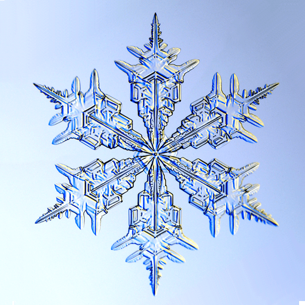 Kenneth Libbrecht Snowflakes messages sticker-11