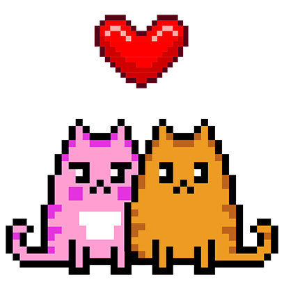 Pixel Cat - Color by Number messages sticker-4
