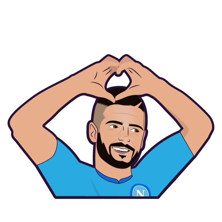 SSC Napoli Stickers messages sticker-2