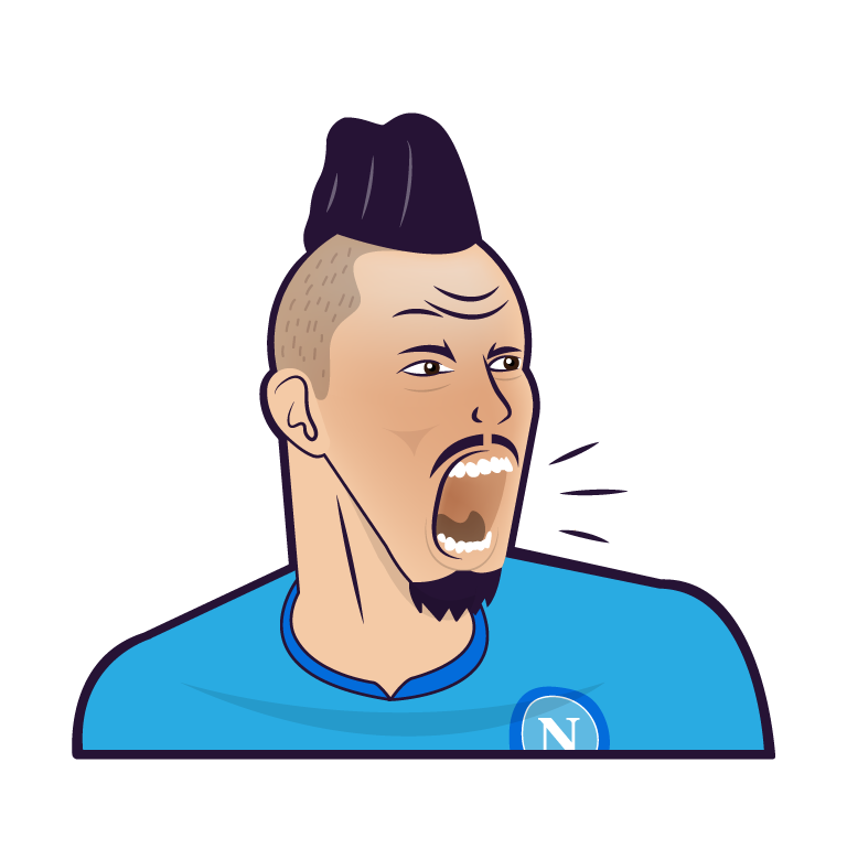 SSC Napoli Stickers messages sticker-0