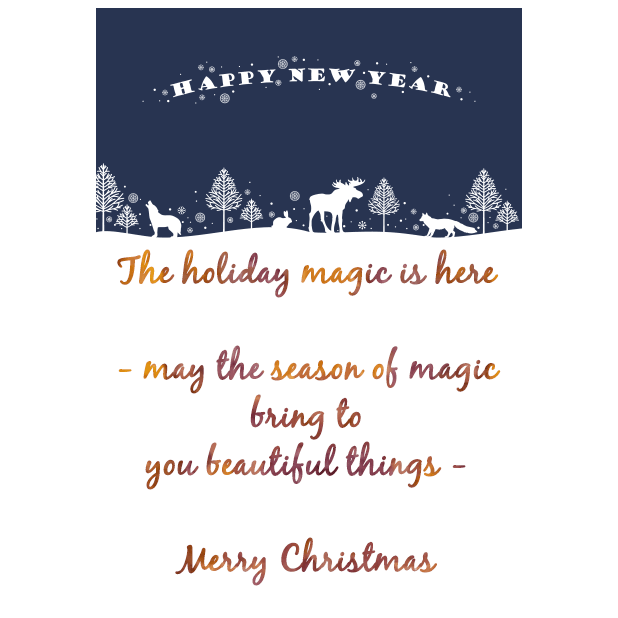 All about Christmas Card messages sticker-8