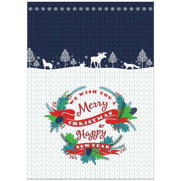 All about Christmas Card messages sticker-6