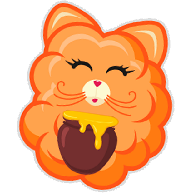 Cotton Candy Mouse Sticker messages sticker-9