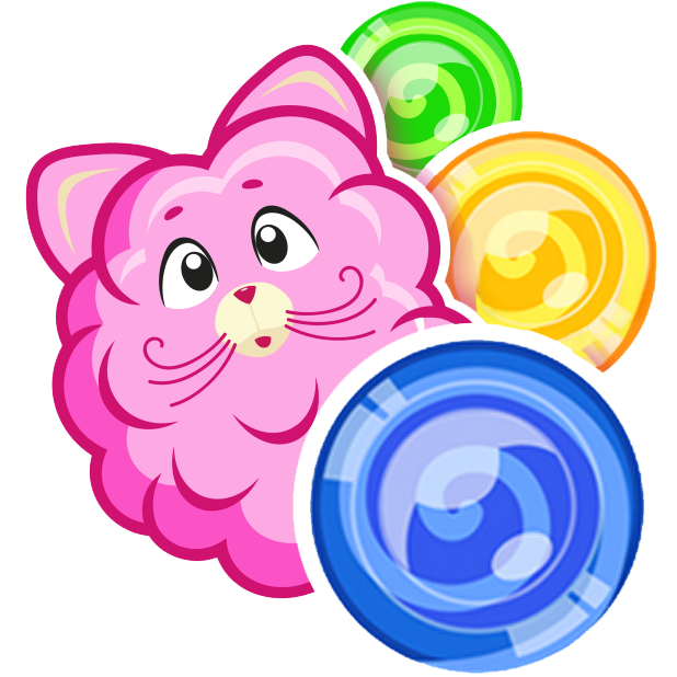 Cotton Candy Mouse Sticker messages sticker-11