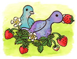 Beautiful Pigeon Bird Sticker messages sticker-6
