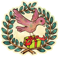Beautiful Pigeon Bird Sticker messages sticker-3
