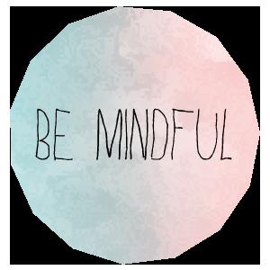 Mindfulness Calendar 2018 messages sticker-0