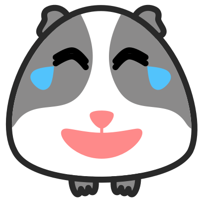 Guinea Pig Emoji messages sticker-3